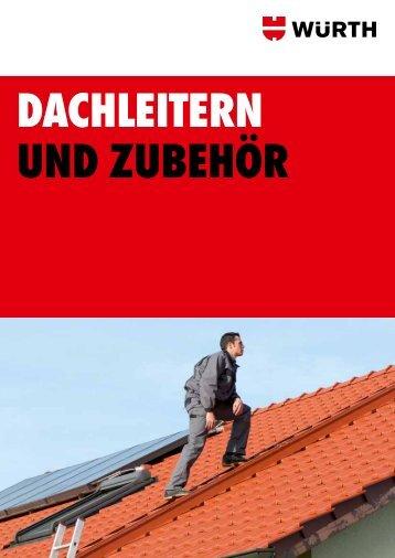 Dachleitern und Zubehör - Adolf Würth GmbH & Co. KG