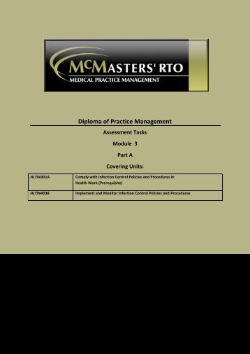 Diploma of Practice Management