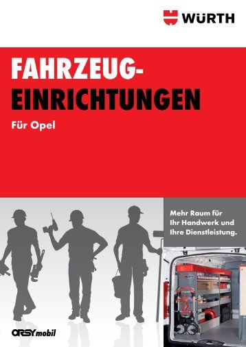 Für Opel - Adolf Würth GmbH & Co. KG