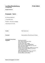 Teil 2 - Land Brandenburg