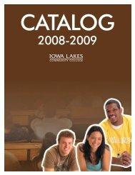 2008-2009 Catalog - Iowa Lakes Community College