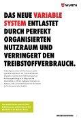 DIE NEUE, VARIABLE FAhRzEUgEINRIchtUNg. - Adolf Würth ... - Seite 2