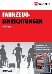 Für Ford - Adolf Würth GmbH & Co. KG