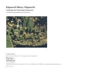 Edgeworth Manor, Edgeworth - Cotswold District Council