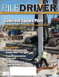 Full Issue (21 MB) - Pile Driving Contractors Association