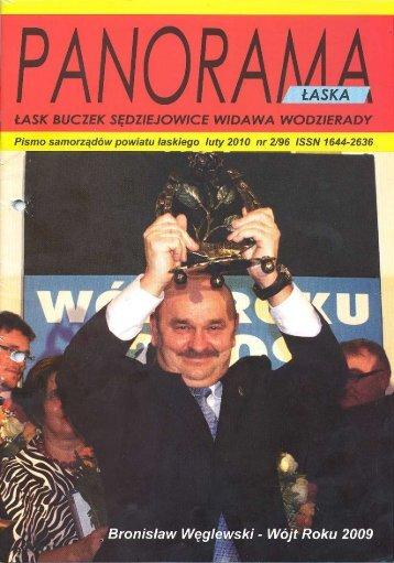 Bronisław Węglewski Wójtem Roku 2009 - archiwum.lask.pl