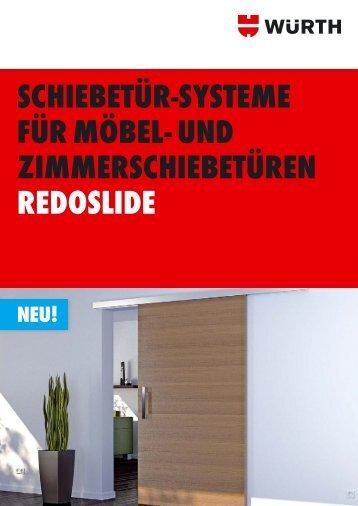 möbelschiebetürbeschlag redoslide - Adolf Würth GmbH & Co. KG