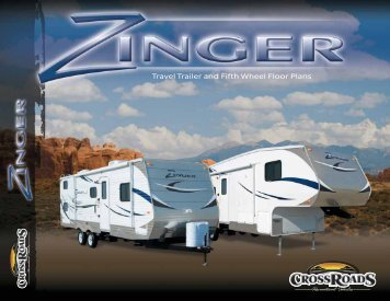 Travel Trailer and Fifth Wheel Floor Plans