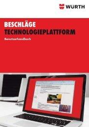 Beschläge Technologieplattform Handbuch - Adolf Würth GmbH ...