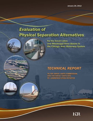 Technical Report (HDR, Inc.) - Great Lakes Commission