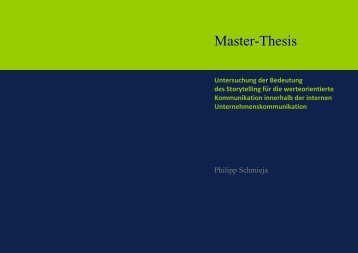 this master thesis