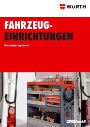 einrichtungen - Adolf Würth GmbH & Co. KG