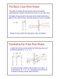 Graphing Radical Functions - Page 5