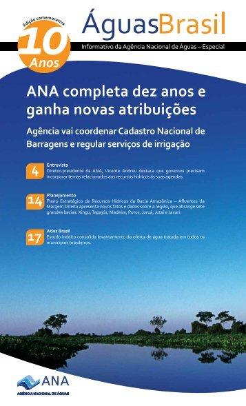 Edição especial de 10 anos da ANA