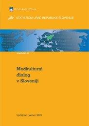 Medkulturni dialog v Sloveniji - Statistični urad Republike Slovenije