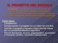 IL PROGETTO NEL SOCIALE - PMI-NIC
