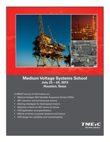 Medium Voltage Systems School July 23 - Tmeic.com