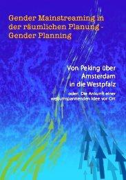 Gender Mainstreaming in der räumlichen Planung - Stadt ...