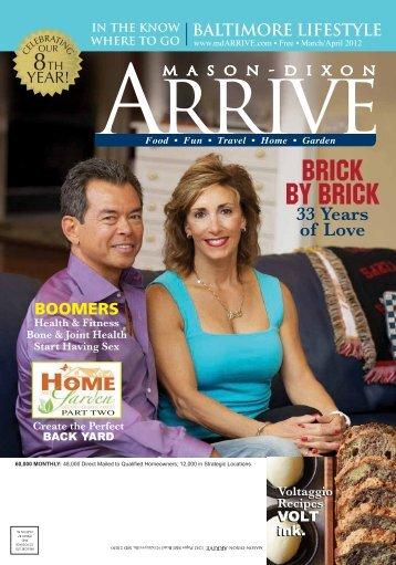 BRICK BY BRICK - Mason Dixon Arrive Magazine