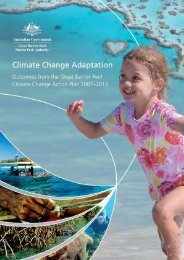 Climate Change Adaptation: Outcomes from the Great Barrier Reef ...
