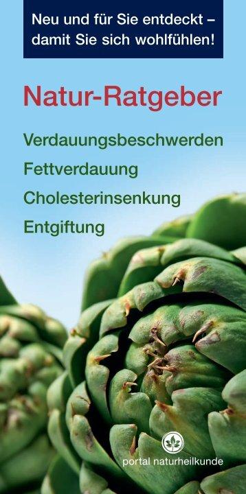 Naturratgeber Verdauungsbeschwerden, Fettverdauung ...