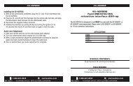 AX-ADFD02 Ford RSE/SYNC/THX retention interface ... - Autotoys