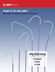 Push it to the Limit™ - Merit Medical