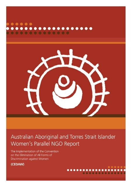 Australian Aboriginal and Torres Strait Islander Women's Parallel ...