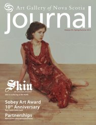 Sobey Art Award 10th Anniversary Partnerships - Art Gallery of Nova ...