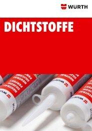 Dichtstoffe - Adolf Würth GmbH & Co. KG