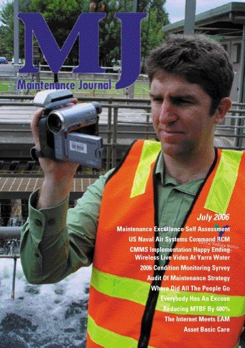 the July 2006 issue. - Maintenance Journal