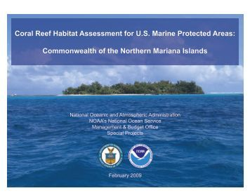 Coral Reef Habitat Assessment for U.S. Marine Protected Areas ...