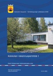 Keski-Pohjanmaan keskussairaalan alue - Kokkola