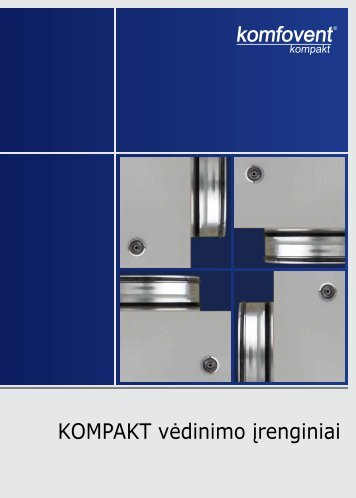 KOMPAKT vėdinimo įrenginiai - Komfovent.com