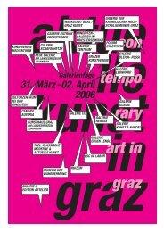 akig 06_Gal.Tage_A4 - Aktuelle Kunst in Graz