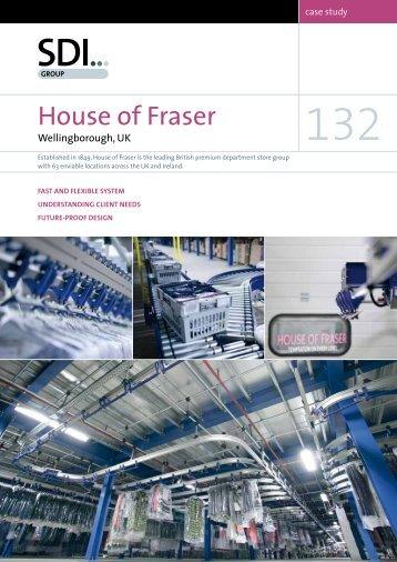 Case Study 132 - House of Fraser - SDI Group