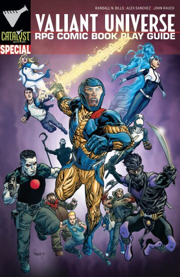 Valiant Universe RPG Comic Book Play Guide