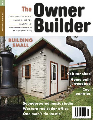 TOB 2011 #163 to #168 - The Owner Builder