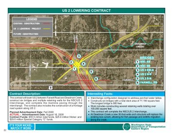 US 2 LOWERING CONTRACT - Washington State Department of ...