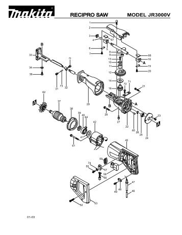 Makita Jr3000v Wiring Diagram
