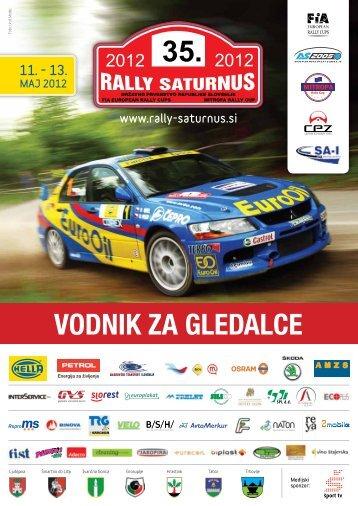 Vodič o Rallyu Saturnus - Občina Ivančna Gorica