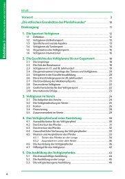 10 Danksagung 2. Die Geschichte des Voltigierens - Fn-Verlag