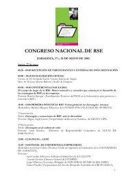 Programa del Congreso - Aragón Digital