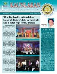 One Big Family - Rotary Club of Makati