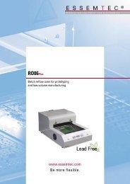 RO06 PLUS Brochure - Sinerji Grup