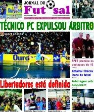 FPFS premiou os destaques de 10 Arbitragem sob ... - Jornal do Futsal