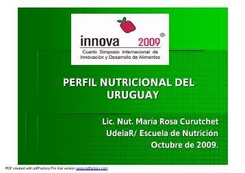 Perfil nutricional del Uruguay