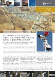 Abertura photovoltaic solar plant - Test Equipment Depot