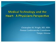 Christopher M. Wright, MD, MBA Pioneer ... - meptec.org