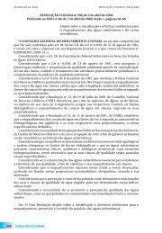Resolução CONAMA nº 396/2008 - PNQA